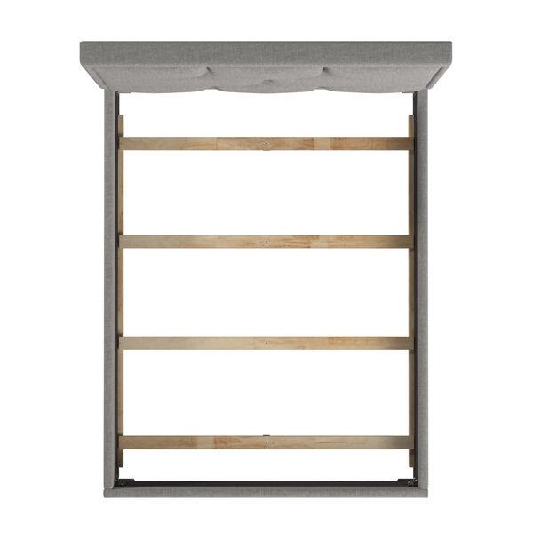Skyler Gray Upholstered Queen Panel Bed, image 5